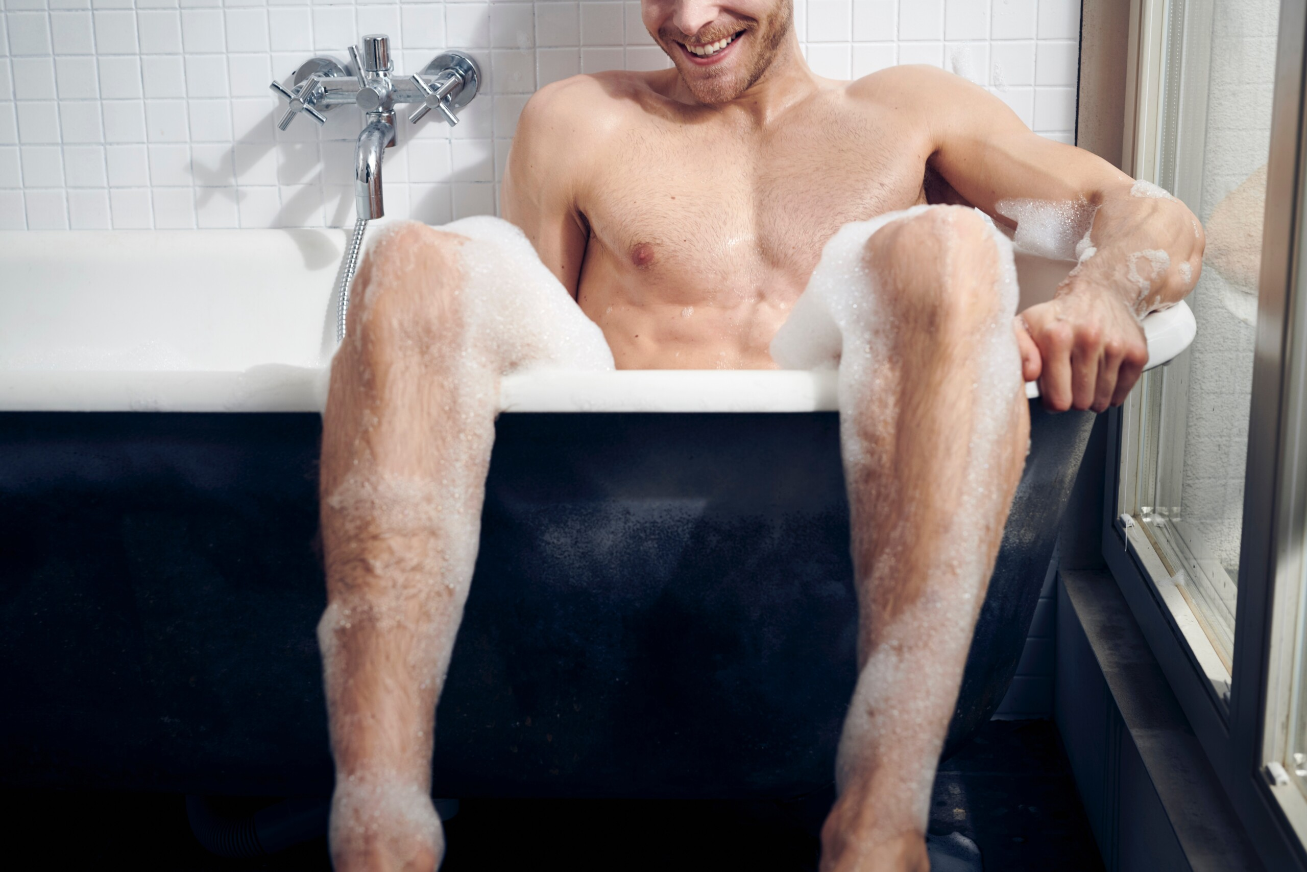 Burning Question. What is the ideal water temperature for a bubble bath?